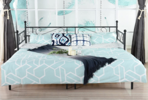 DORAFAIR Twin Daybed and Trundle with Mattress