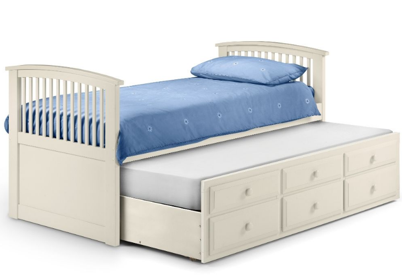 Hornblower Stone 3 Drawer Storage Trundle Bed