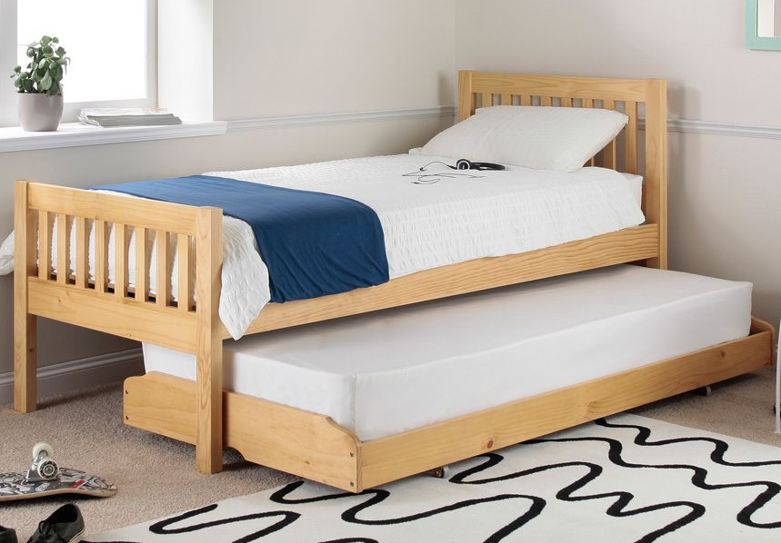 Lena Pine Guest Bed