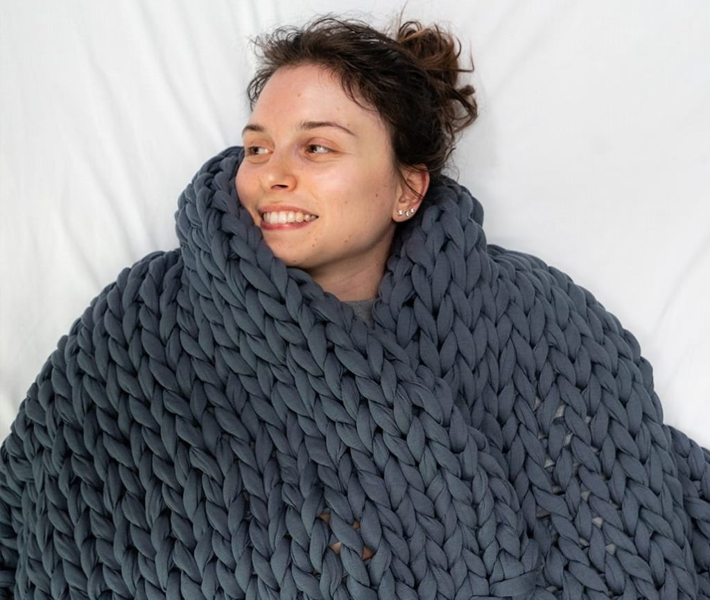 Sommio Knitted Weighted Blanket